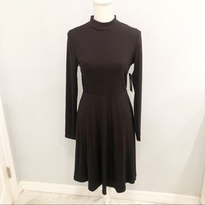NWT Lulu's black long sleeve dress